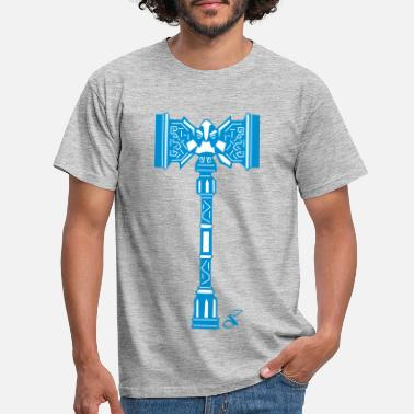 War Dwarven War Hammer - Men's T-Shirt