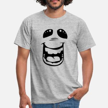 Laughing Of Loud Funny emotion - laughing out loud - Mannen T-shirt