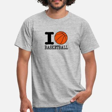 I Love Basketball I love basketball / I love basketball - Men's T-Shirt