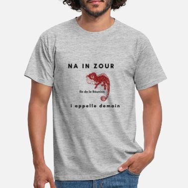 NA IN ZOUR I APPELLE DEMAIN - T-shirt Homme
