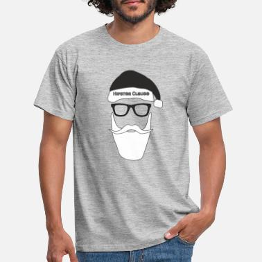 Clause Hipster Clause - Men's T-Shirt