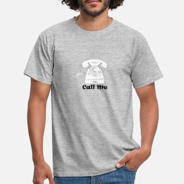 Telephone Handset 20200915 Telephone Call Me - Men's T-Shirt