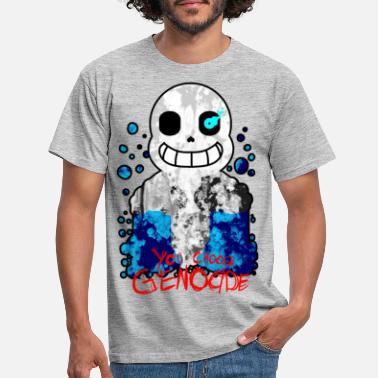 Undertale You Choose Genocide - T-shirt Homme
