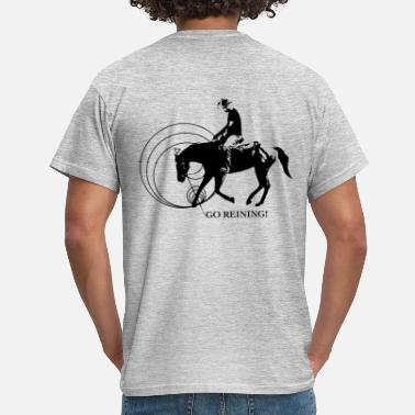 Équitation Western Equitation western - Equitation western - Reining - T-shirt Homme