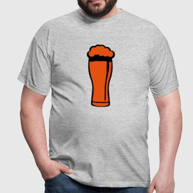 Beer glass foam 220223 - Men's T-Shirt