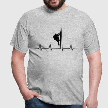 Mountaineers heartbeat - Men's T-Shirt