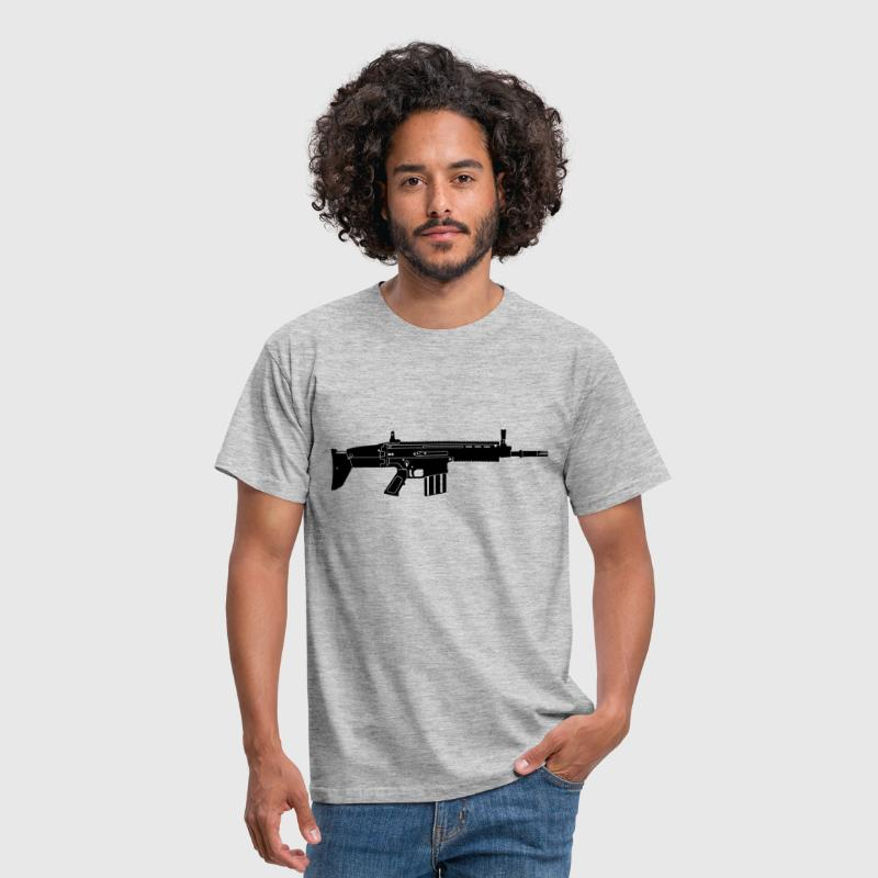 Scar Weapon Military Rifle - T-shirt Homme