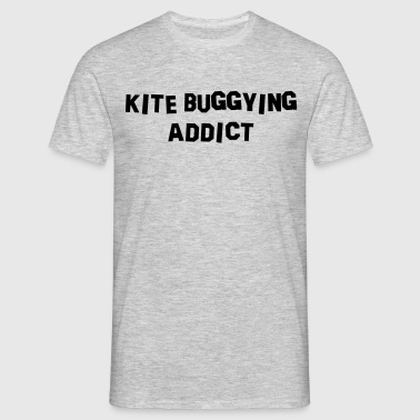 kite buggying addict - Men's T-Shirt
