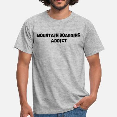 Boarding mountain boarding addict - T-shirt Homme