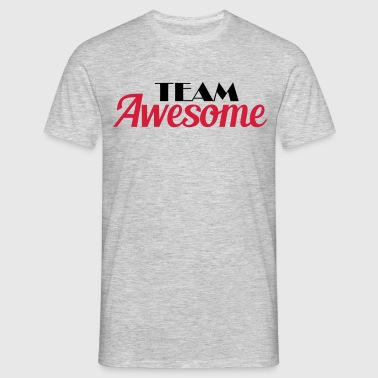 Team Awesome - T-shirt herr