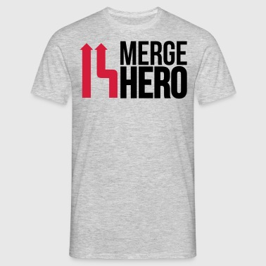 merge_hero9_2f - Men's T-Shirt