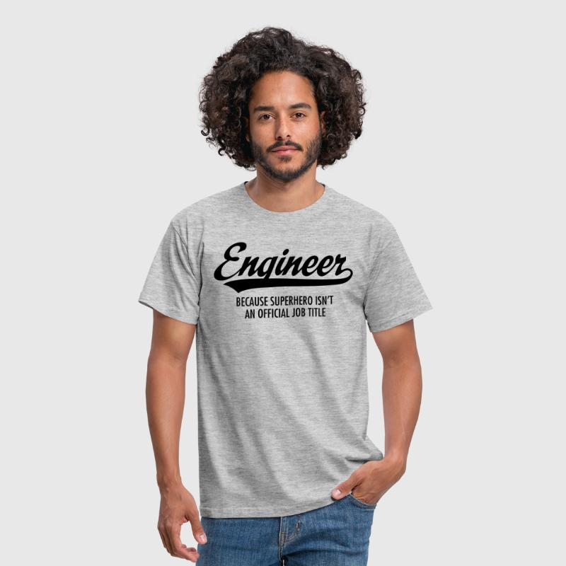 Engineer - Superhero - Camiseta hombre