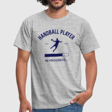 Handball player loading - T-shirt Homme
