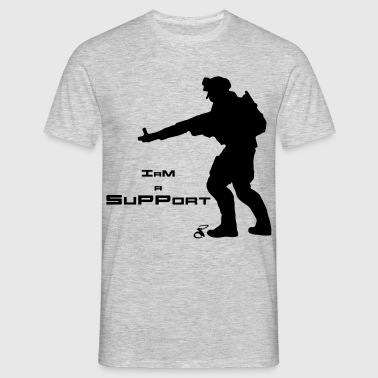 Soldier Support - Men's T-Shirt
