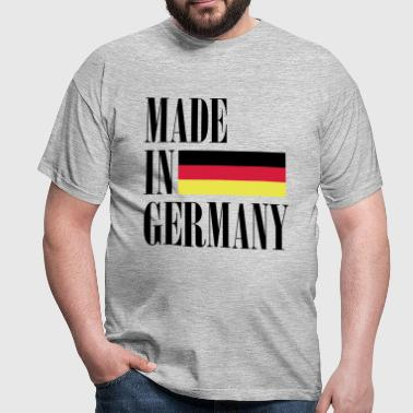 Made in Germany - Deutschland Flagge - Männer T-Shirt