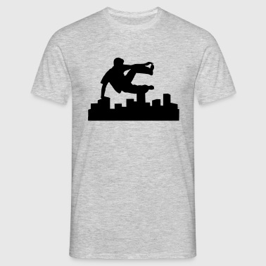 Freerunning, free running, free runner - Men's T-Shirt