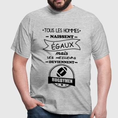 hommes rugbymen,rugby - T-shirt Homme