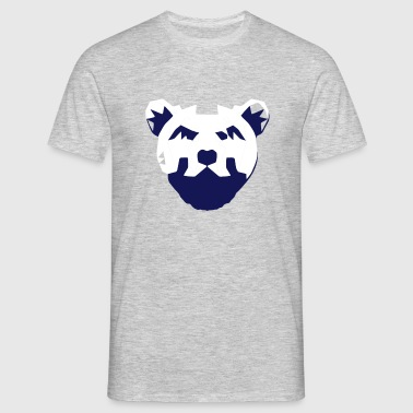 Bear Sketch light - Männer T-Shirt