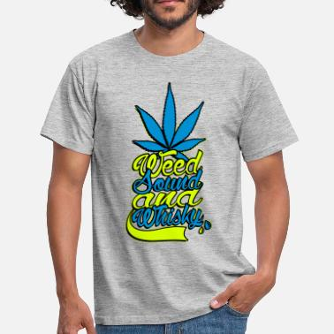 Whisky weed sound et whisky - T-shirt Homme
