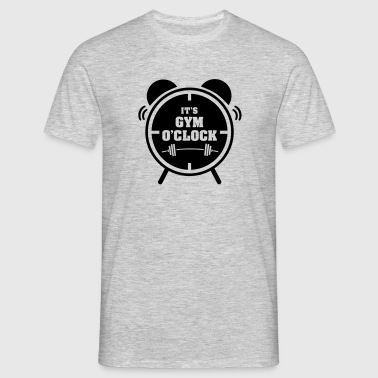 It's Gym O'Clock - Men's T-Shirt