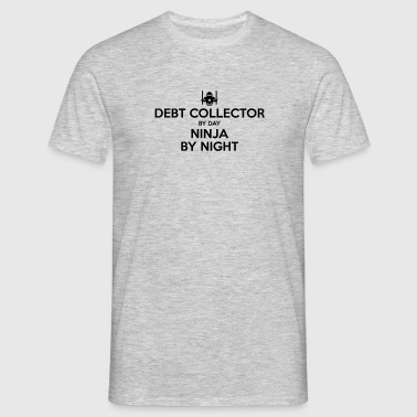 debt collector day ninja by night - Men's T-Shirt