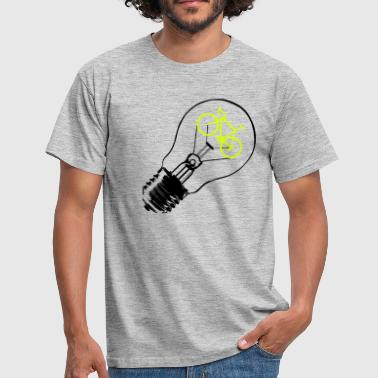 Bulb / Bike - T-shirt herr