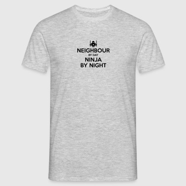 neighbour day ninja by night - Men's T-Shirt