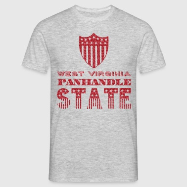 west virginia panhandle - T-shirt Homme
