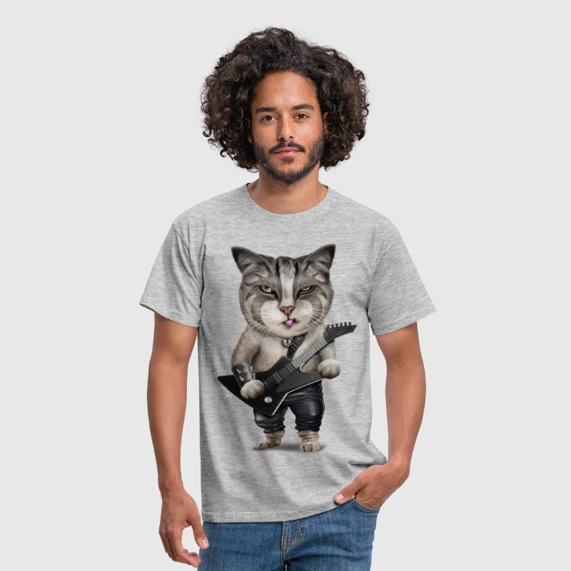 METALCAT - Men's T-Shirt
