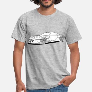 Concept concept car - Men's T-Shirt