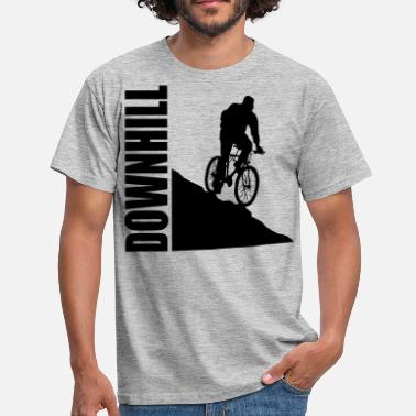 Downhill Bike Downhill - T-shirt Homme