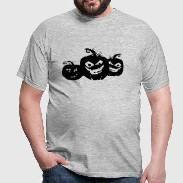 Halloween Pumpkin Heads - Men's T-Shirt
