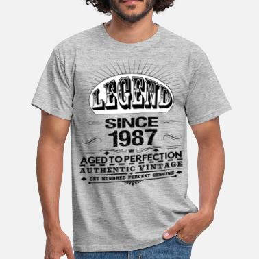 Since 1987 LEGEND SINCE 1987 - Men's T-Shirt