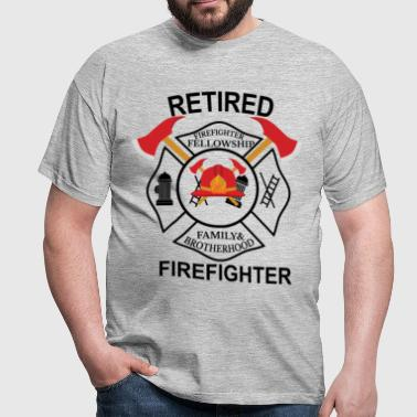 Firefighter Fellowship Retired - Men's T-Shirt
