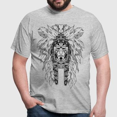 indian - T-shirt Homme