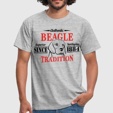 Beagle Authentic Beagle Tradition - Men's T-Shirt