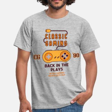 Snes Classic Gaming - Back In The Plays - Men's T-Shirt