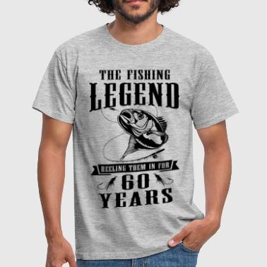 The Fishing Legend Reeling Them In For 60 Years - Men's T-Shirt