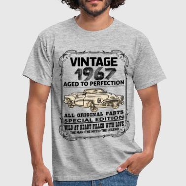 Aged To Perfection 1967 VINTAGE 1967-AGED TO PERFECTION - Men's T-Shirt