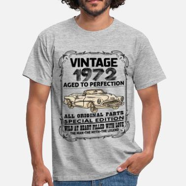Vintage 1972 VINTAGE 1972-AGED TO PERFECTION - Men's T-Shirt