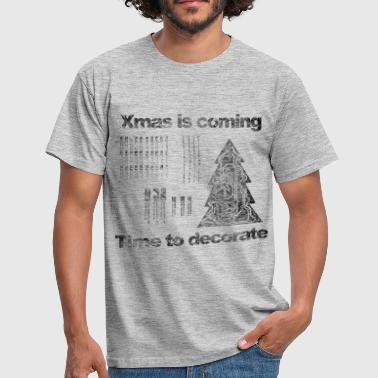 xmas is coming - T-shirt herr
