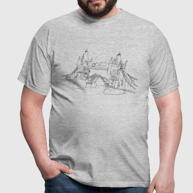 London Tower Bridge  - T-shirt Homme