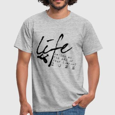 Zone T-shirts Life - T-shirt Homme