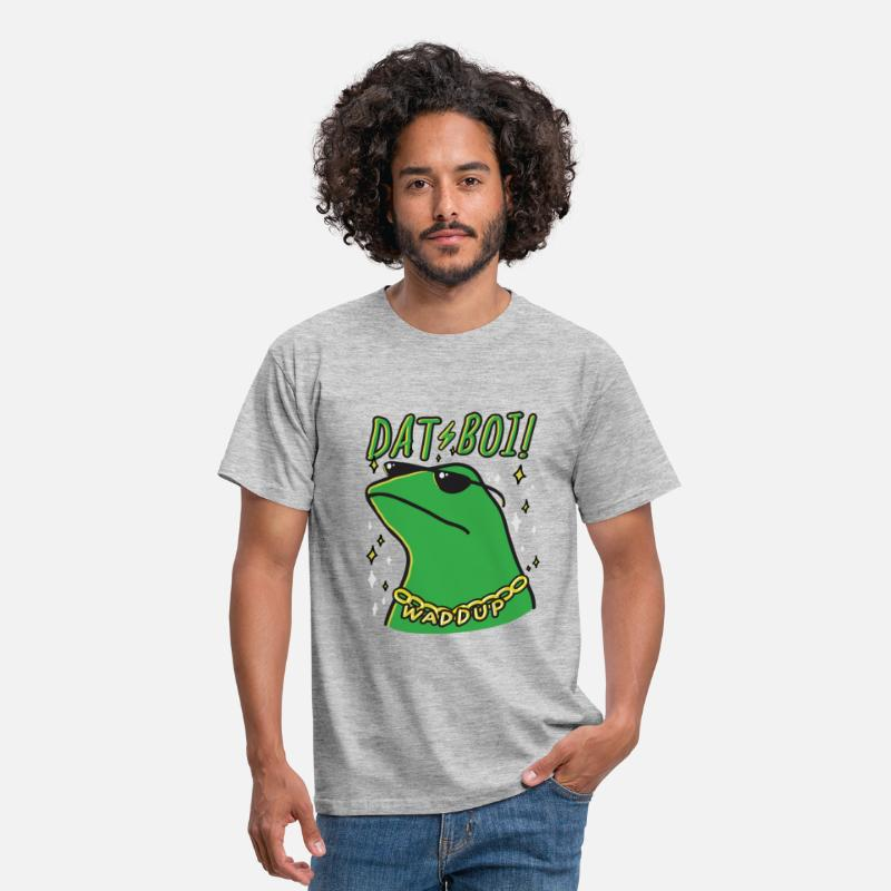 Pepe T-Shirts - dat boi - Men's T-Shirt heather grey