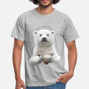 Polar WHAT'S YOUR NAME - Men's T-Shirt