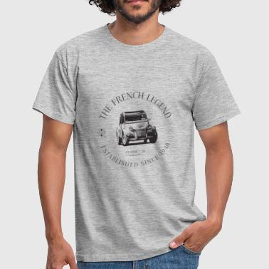 CITROEN 2CV FRENCH CAR - T-shirt Homme
