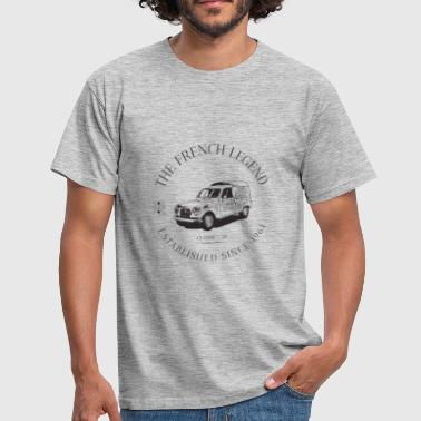 RENAULT 4L FRENCH CAR - T-shirt Homme
