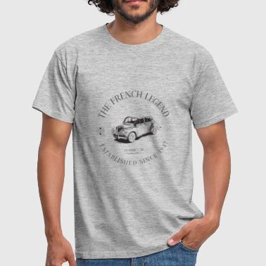 RENAULT 4CV FRENCH CAR - T-shirt Homme