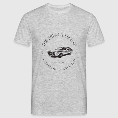 RENAULT 15 FRENCH CAR - T-shirt Homme