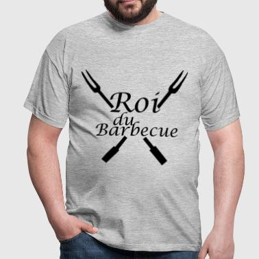Roi du Barbecue - T-shirt Homme